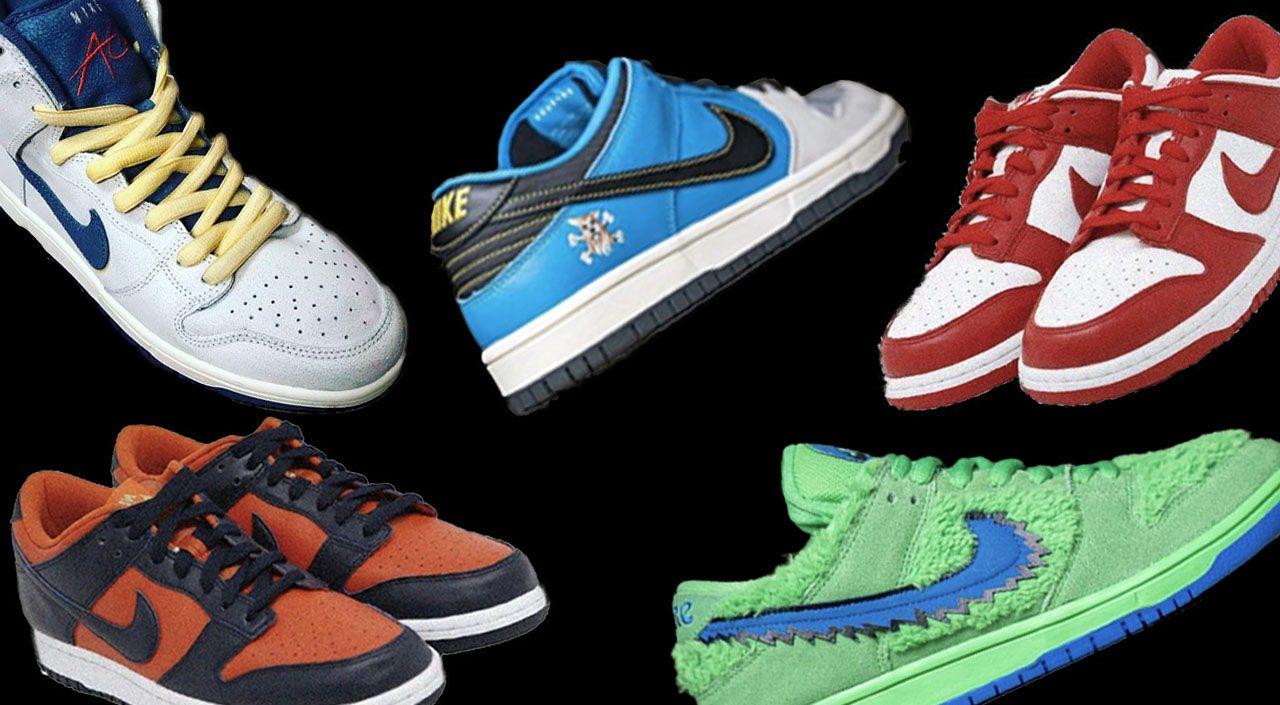 Upcoming Nike Dunks feature borderless