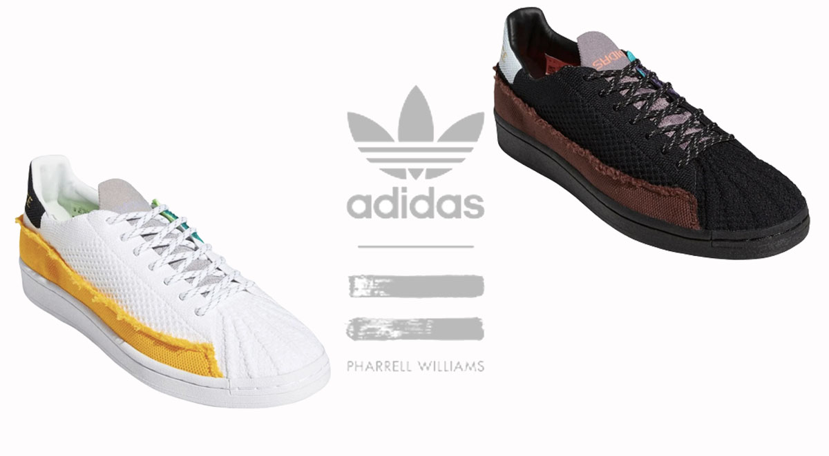 Adidas x Pharrell Superstar feature