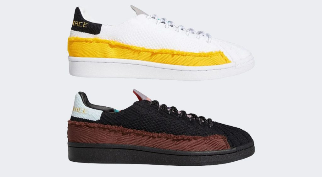 Adidas x Pharrell Superstar side view