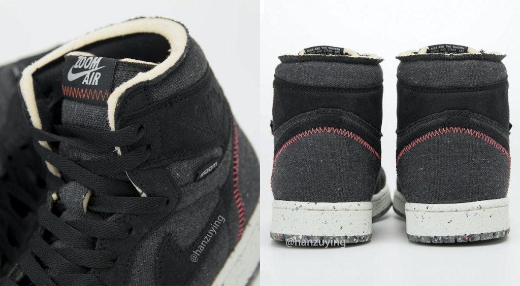 "Air Jordan 1 High Zoom ""Space Hippie"" stitching"