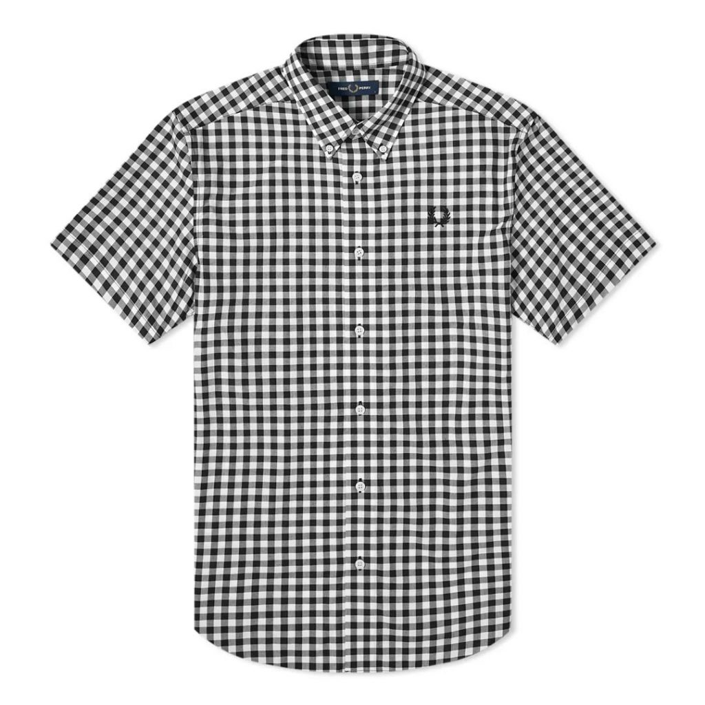 Father's Day Gift Guide 2020 FRED PERRY AUTHENTIC SHORT SLEEVE GINGHAM SHIRT