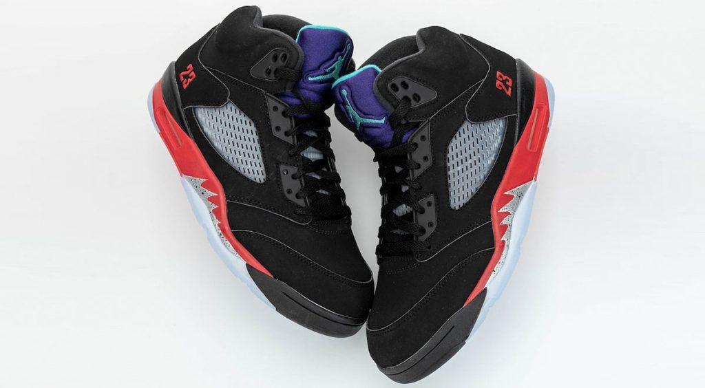 Footwear drops Air Jordan 5 Top 3