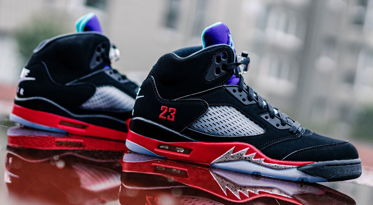 Footwear drops Air Jordan 5 Top 3 feature