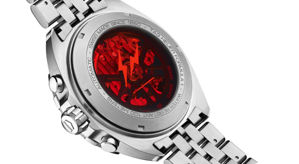Fragment x Tag Heuer back case 2