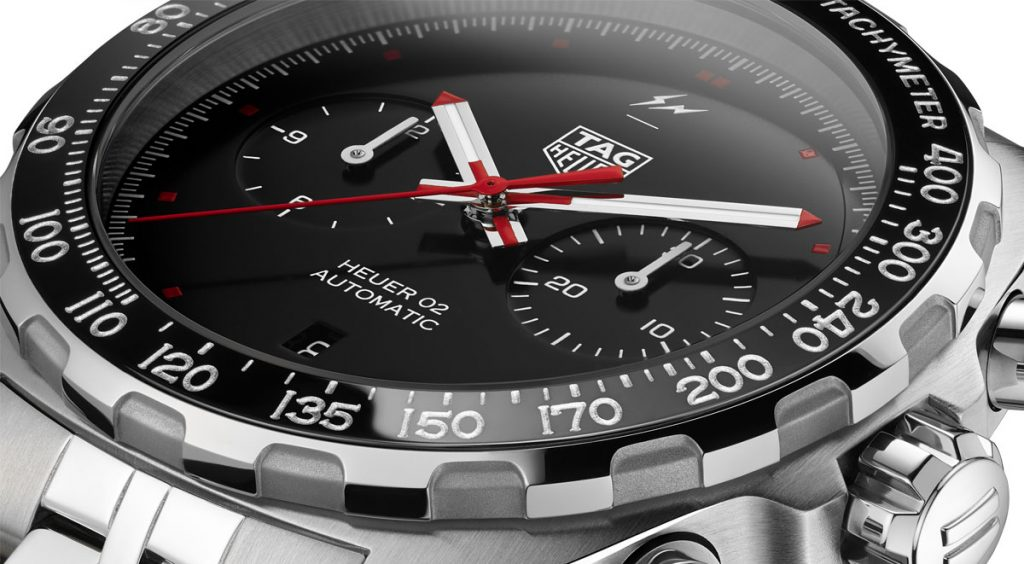 Fragment x Tag Heuer watch face