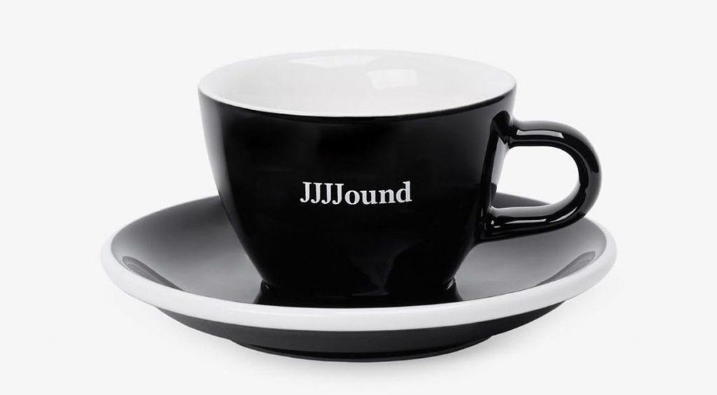 Jjjjound x New Balance 992 brand logo