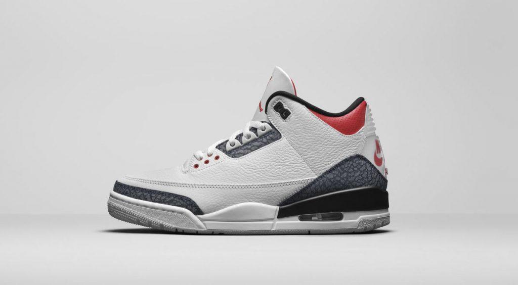 "Jordan Brand Fall 2020 Air Jordan 3 Retro ""Denim Fire Red"""