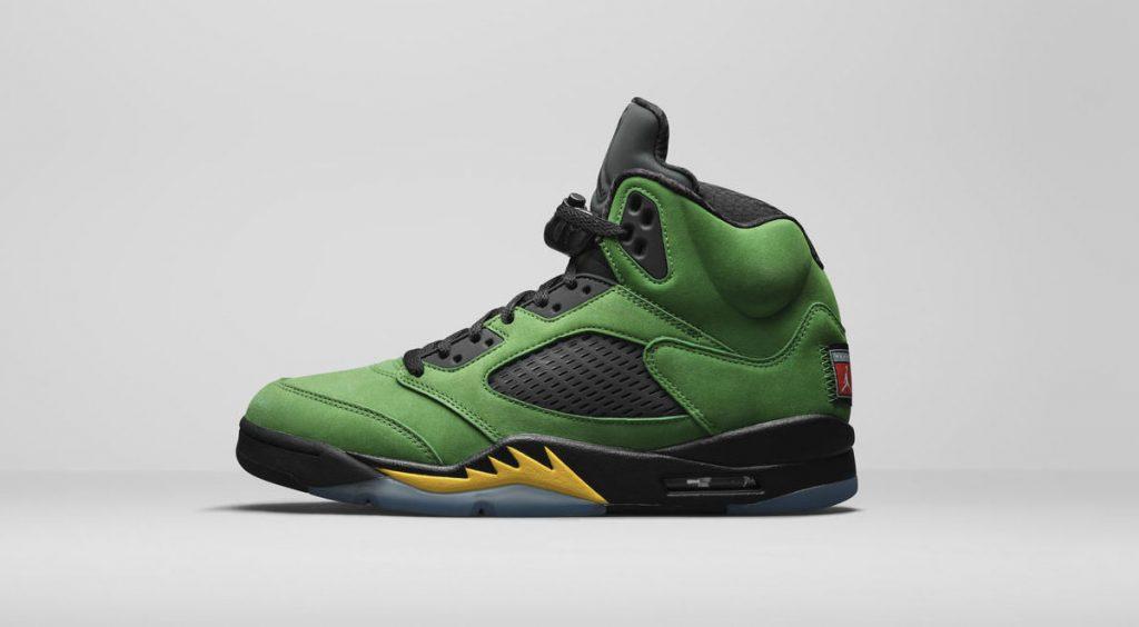 """Jordan Brand Fall 2020 Air Jordan 5 Retro """"Oregan Ducks"""""""