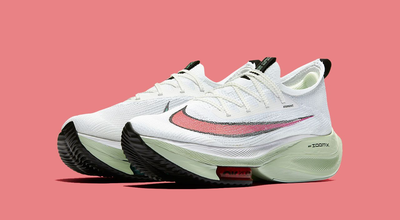 "NIke Air Zoom Alphafly Next% ""Watermelon"" feature"