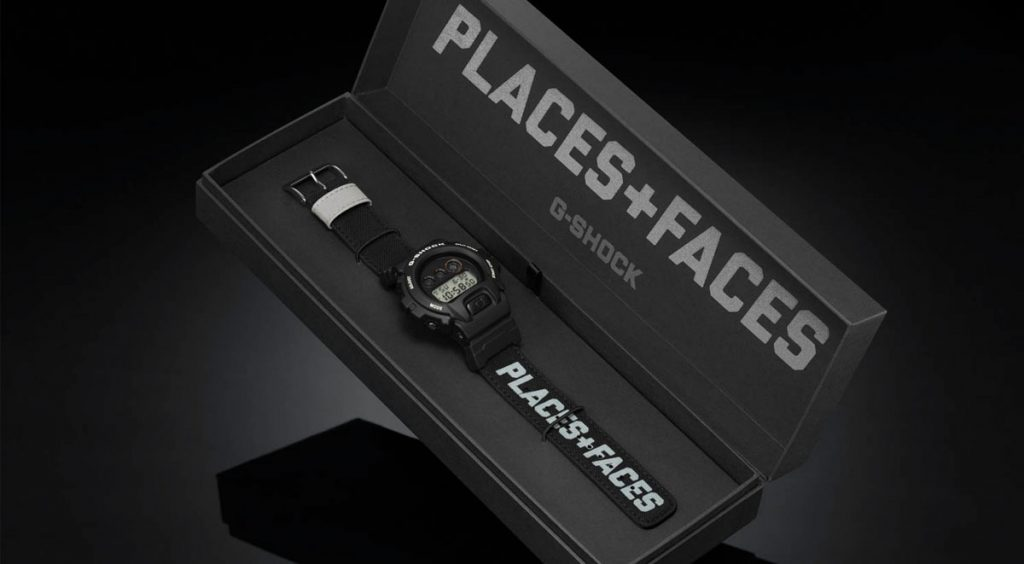 Places + Faces x G-Shock in box