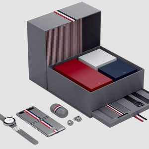 Samsung Galaxy Z Flip Thom Browne box set
