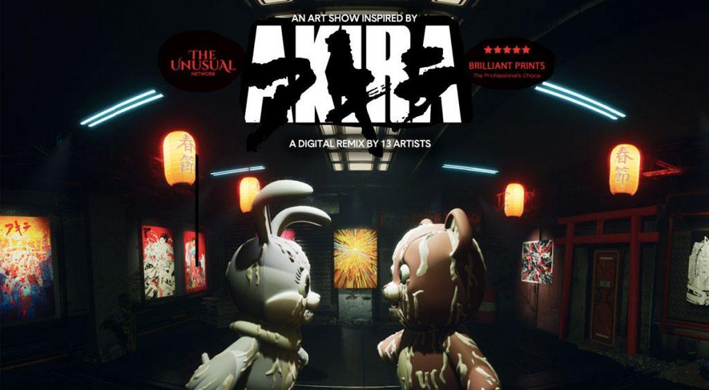 Virtual Akira Art Exhibition poster