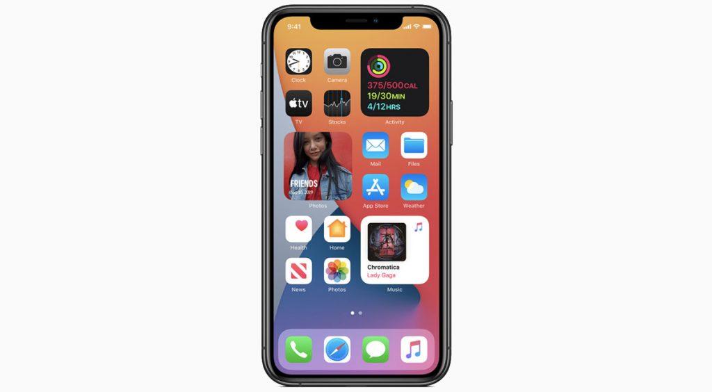 WWDC 2020 iPhone widget