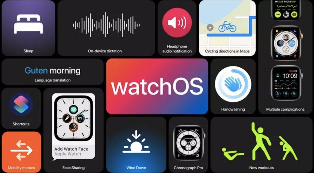 WWDC 2020 watchOS