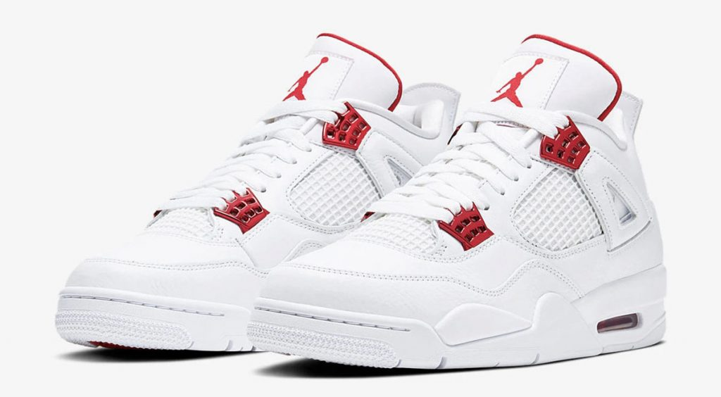 Footwear Drops Air Jordan 4 Retro metallic red end clothing