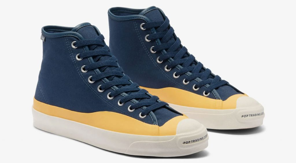 """Footwear Drops Air Max 90 """"Orange Camo"""" Converse x Pop Trading Company Jack Purcell Pro Hi"""