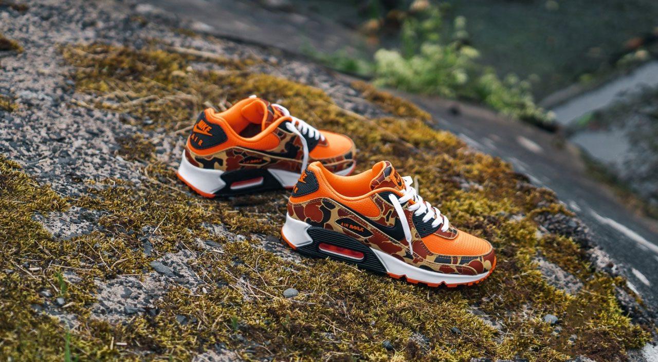 """Footwear Drops Air Max 90 """"Orange Camo"""" feature 43einhalb"""