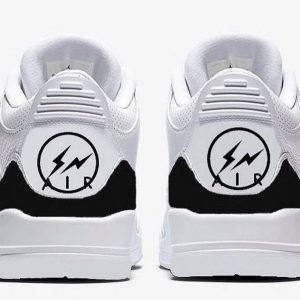 Fragment x Air Jordan 3 feature