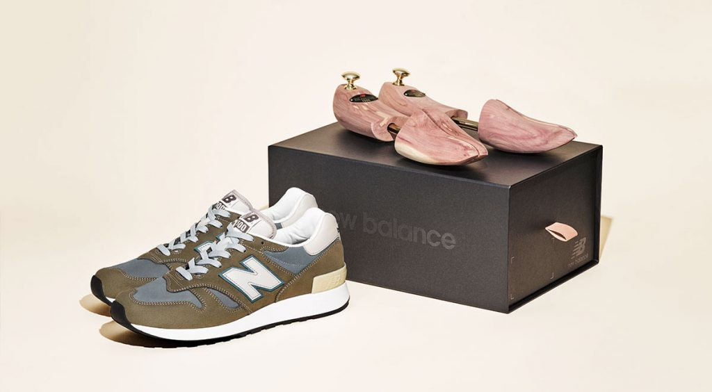 M1300JP New Balance with box and shoe tree