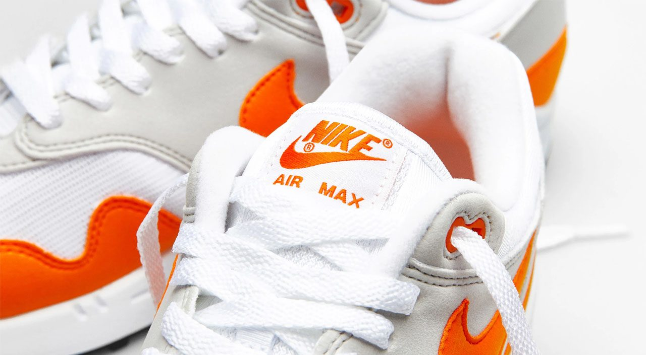 "Nike Air Max 1 ""Magma Orange"" feature"