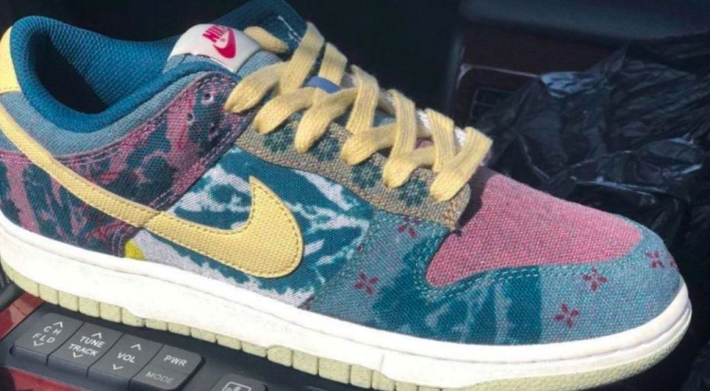 """Nike Dunk """"Space Hippie"""" feature"""