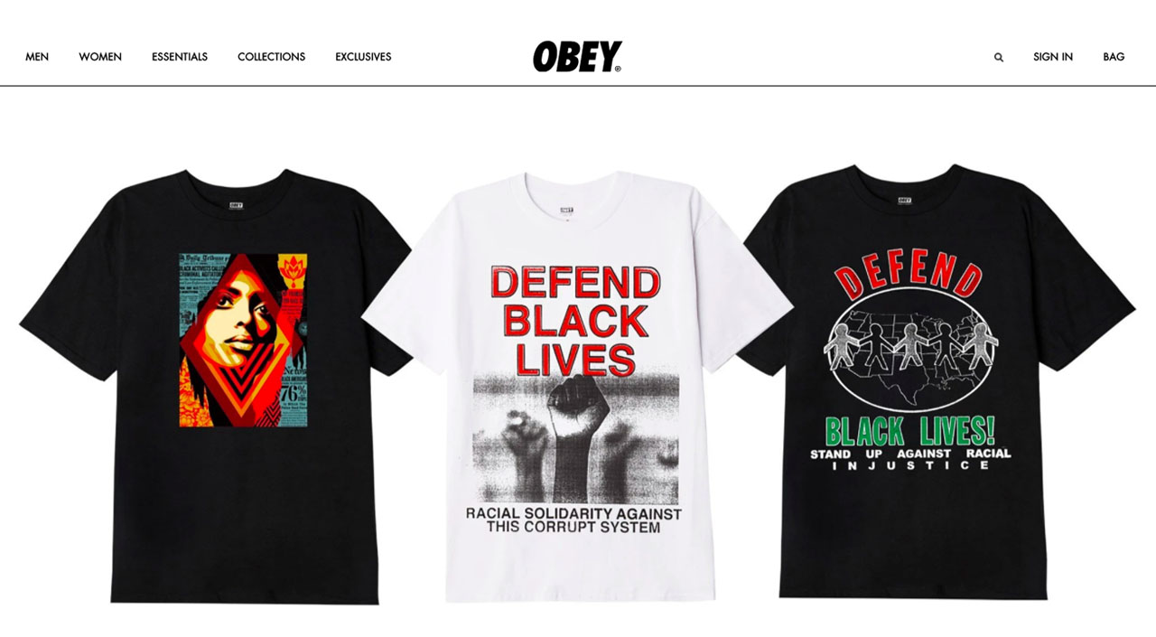 Obey Singapore Webstore Feature