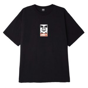 Obey Singapore Webstore Icon Face Black