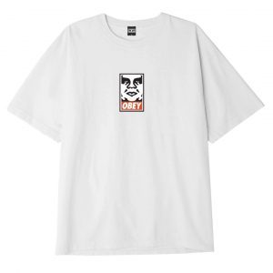 Obey Singapore Webstore Icon Face White
