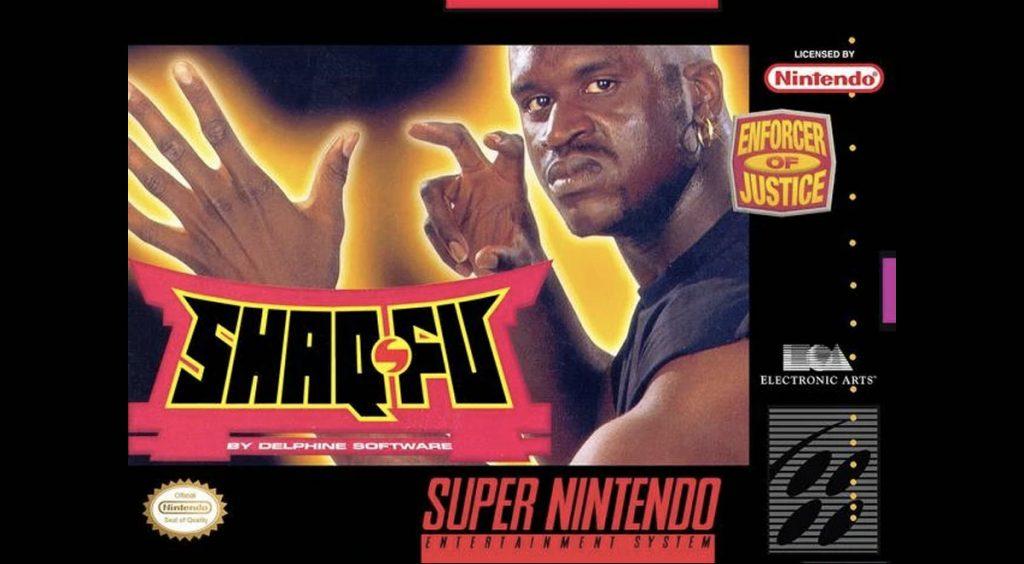 """Reebok Shaqnosis """"Shaq Fu"""" game cover"""