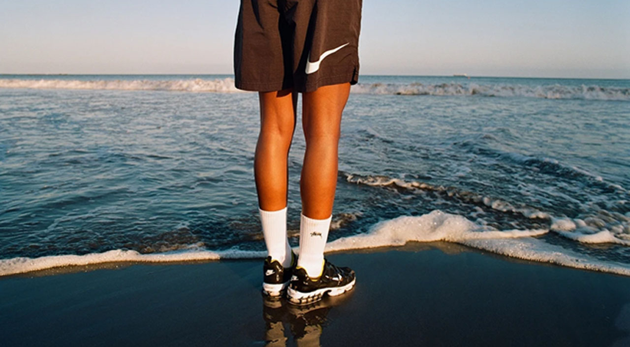 Stussy x Nike Zoom Kukini feature