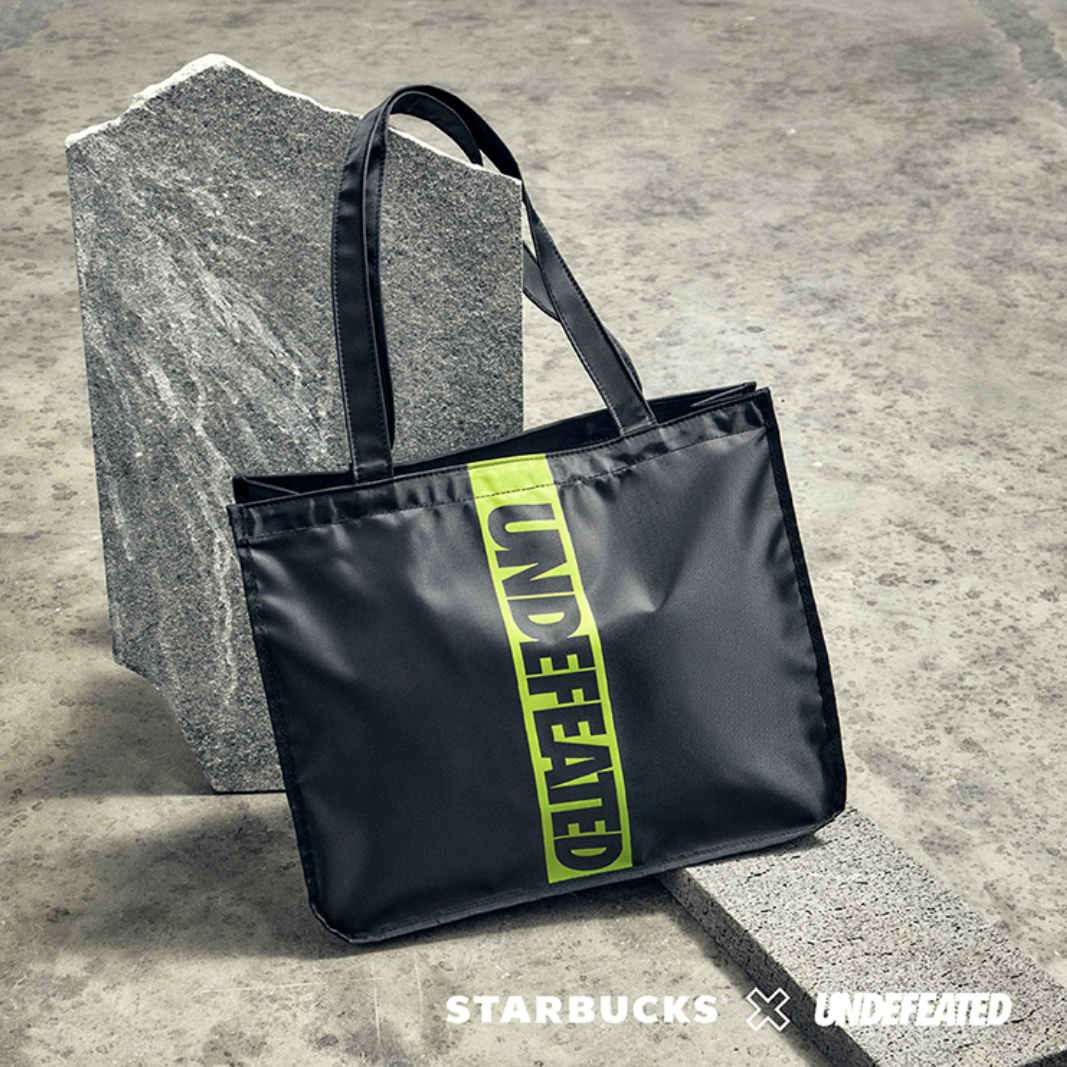 starbucks x undefeated singapore: tote bagstarbucks x undefeated singapore: tote bag
