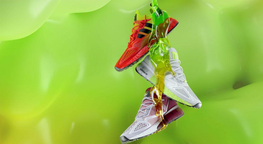 Adidas ZX 2K Boost three colorways