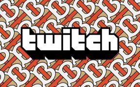 Burberry Twitch live stream background