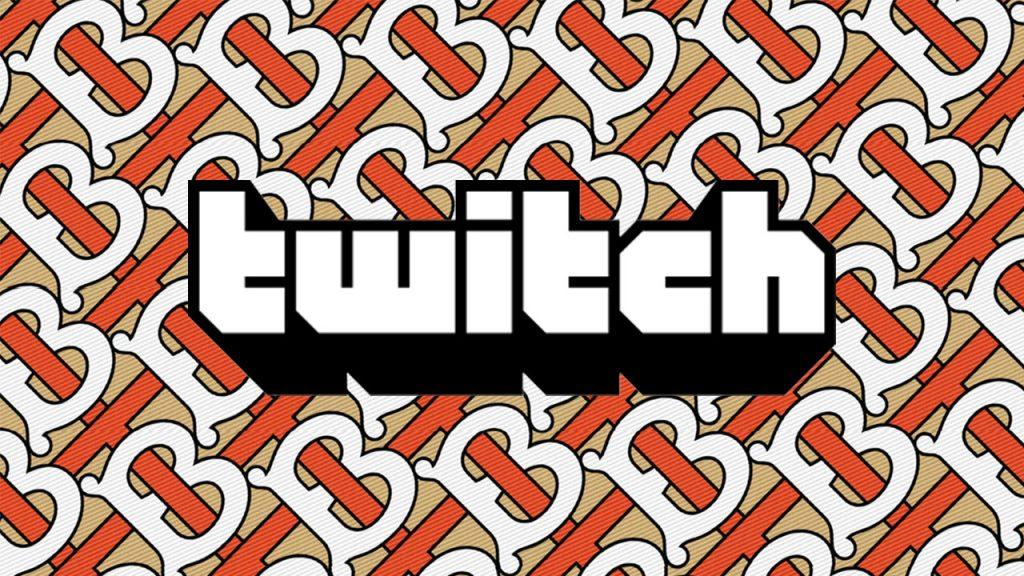 Burberry Twitch live stream