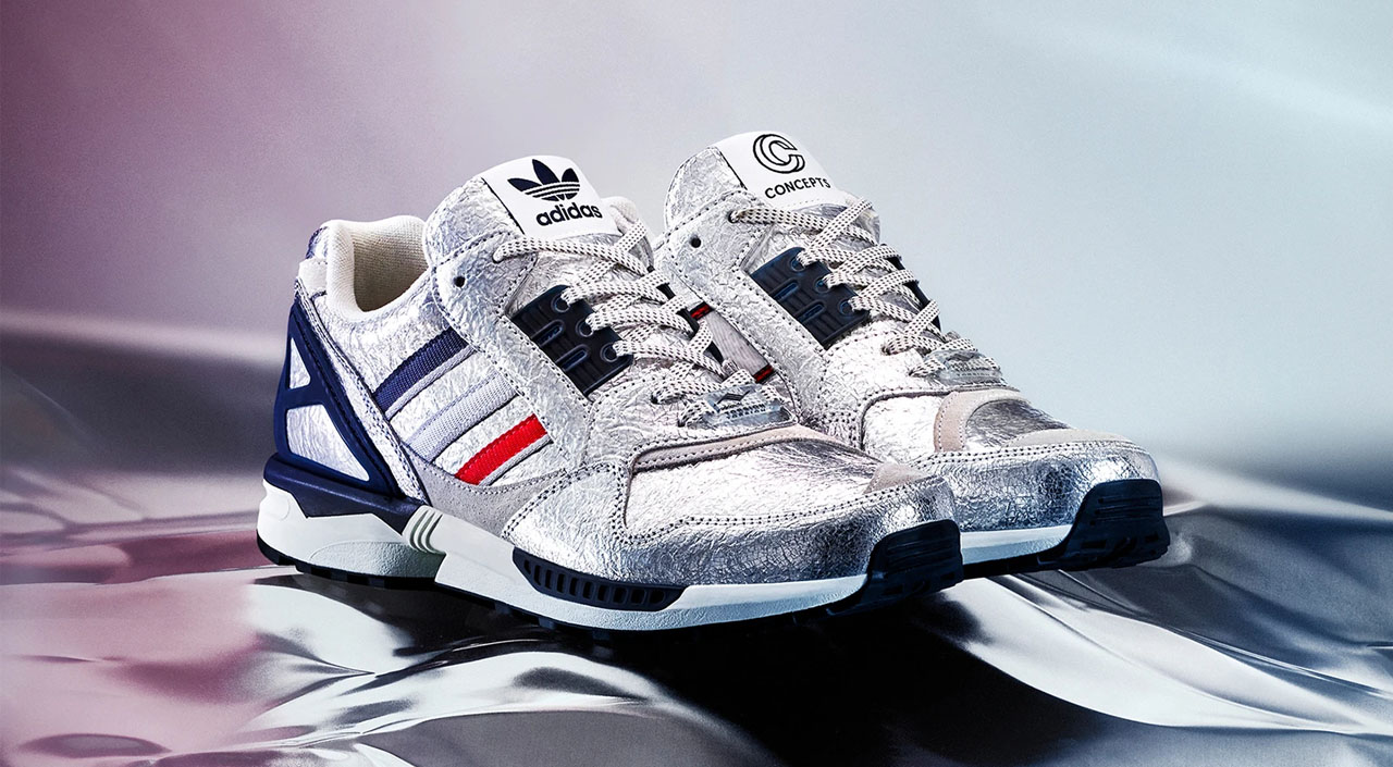 Concepts x Adidas ZX 9000 feature