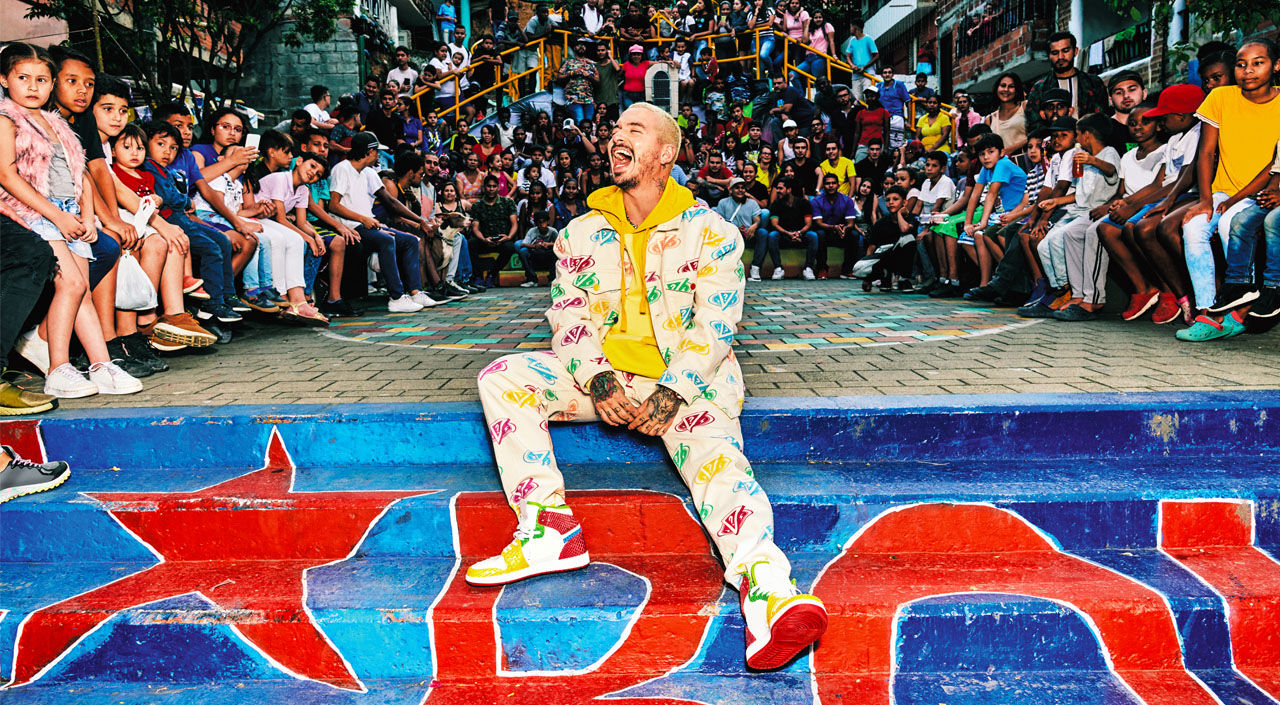 J Balvin x Guess Colores drops on September 24