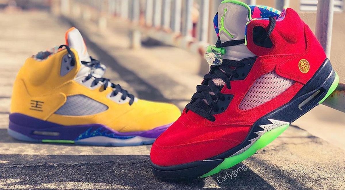 "Air Jordan 5 ""What The"" Drops On November 11"