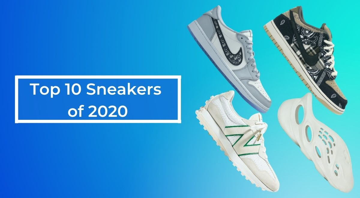 Top sneakers of 2020