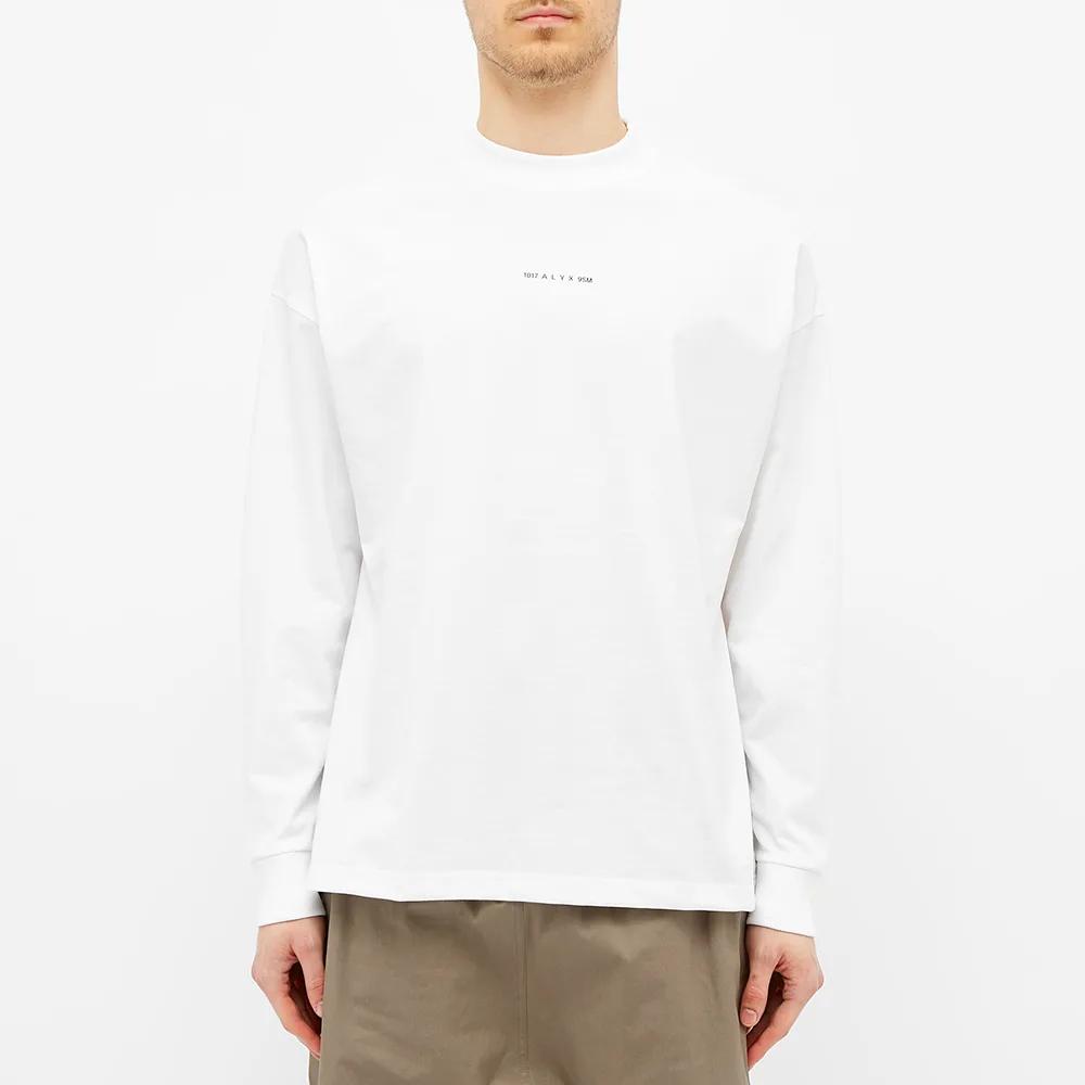 1017 ALYX 9SM Long Sleeve Visual Tee