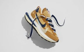 Nike x Sacai Vaporwaffle Dark Iris and Sesame Singapore Drop: April 29