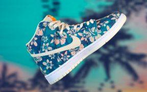 Nike SB Dunk High Hawaii Leaks Reveal Tearaway Holiday Prints