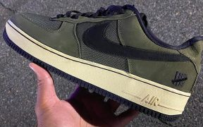 Undefeated x Nike Air Force 1 Brings Back Ballistic Dunk Colorway