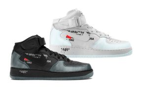 Off-White Air Force 1 Mid Leaks: Virgil Has A Nike Collab Set For 2022