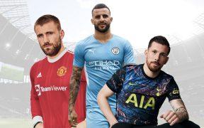 The Best Premier League Kits 21/22 Sponsors –Links To Shop Them All