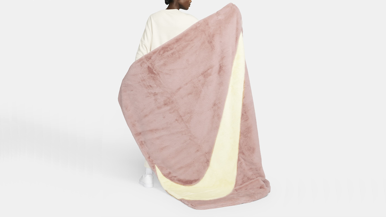 Nike Faux Fur Blanket Is A Versatile Homeware Piece We Did Not Expect